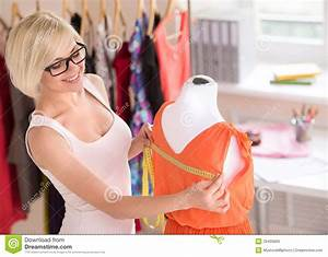 Fashion Designer At Work. Stock Photos - Image: 33435663