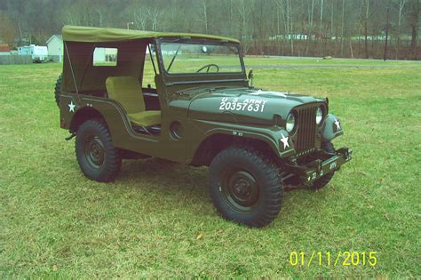 vintage willys jeep 1953 willys jeep m38a1 classic willys m38a1 1953 for sale