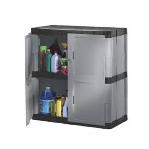 rubbermaid plastic storage cabinet 36x18x37 quot gray