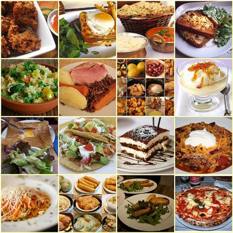 different types of food flickr photo