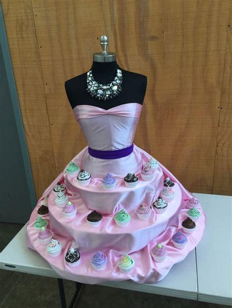 tutorial mannequin cupcake stand desserts