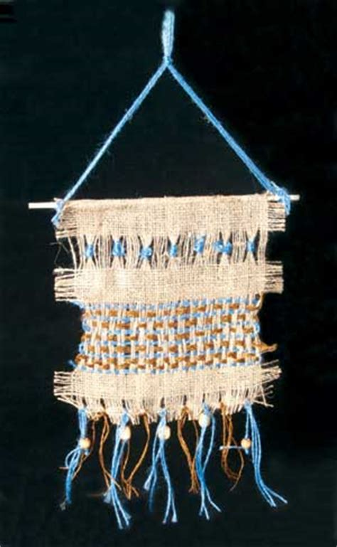 native american burlap weaving lesson plan