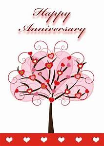 Most Romantic Printable Anniversary Card Templates For Your Mate   Thogati