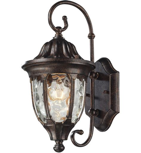 elk lighting 45002 1 glendale regal bronze 7 inch 1