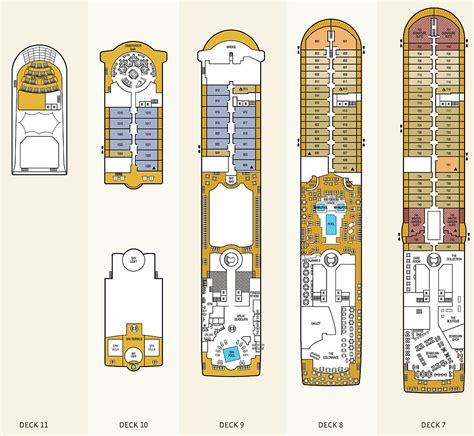 mv seabourn odyssey sojourn deck plans