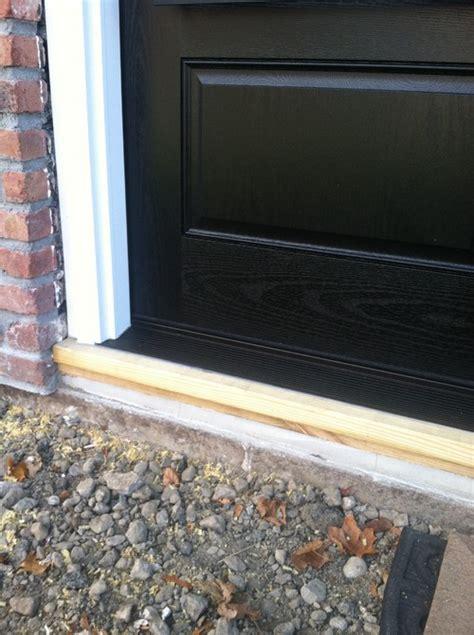 front door sill help