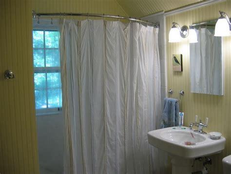 l shaped shower curtain rod home design ideas