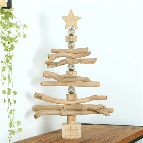 mid levels habitat rotating wooden christmas tree ornaments indoor bar soft creative holiday