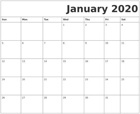 october calendar