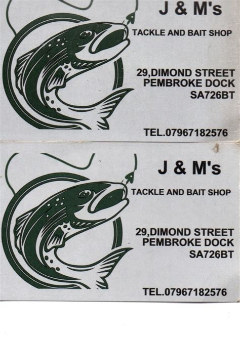 tackle shops local