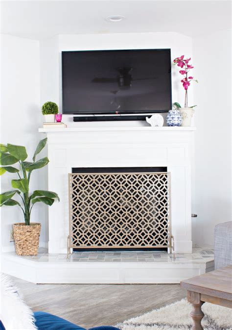How To Use Fireplace - prescott view home reno fireplace remodel clutter