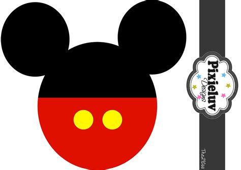 mickey template the290ss mickey mouse birthday banner tutorial