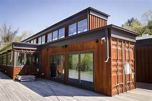 City building blocks: Shipping container structures are