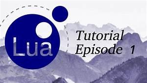Lua Programming Tutorial