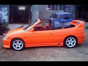 Ford Escort Xr3i : ford escort cabrio xr3i 1992 orange youtube ~ Melissatoandfro.com Idées de Décoration
