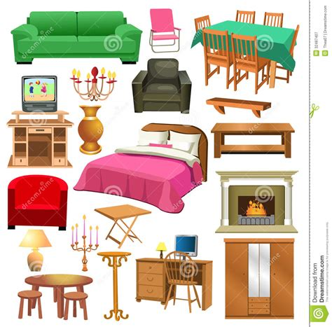 interior living room clip art cliparts