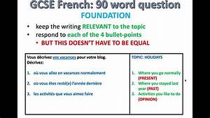 Gcse French  Exam Skills