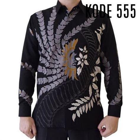 Kain batik halus semi sutra sutera motif kembang bunga padi. Batik Pria Formal Semi Sutra - Batik Filosofia di 2020 ...