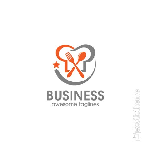 cuisine logo food logo exotictheme com