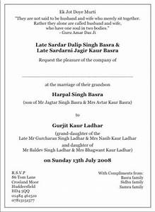 sample of wedding programme sikh wedding invitation wordings sikh wedding wordings