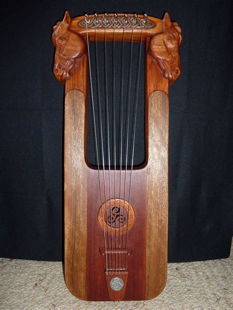 lyre a popular stringed instrument in ancient greece
