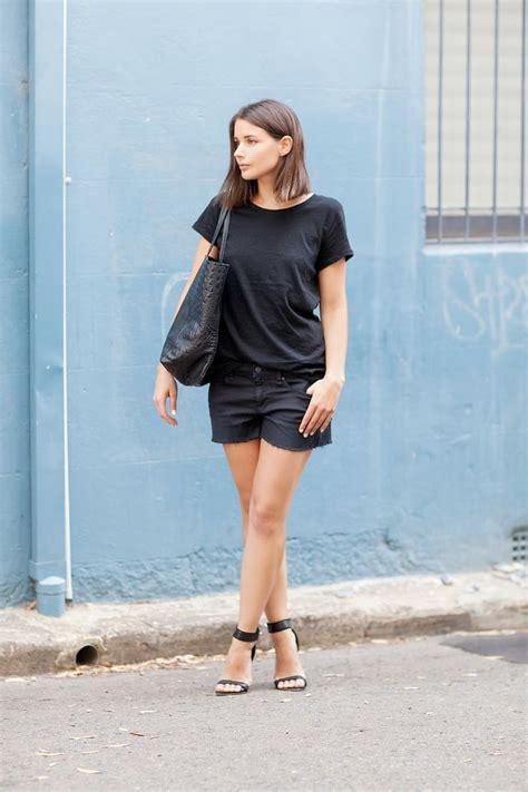 How to Wear All Black in the Summer u2013 Glam Radar