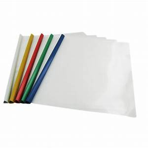 pack of 5 plastic a4 document wallets plastic files With vinyl document folders