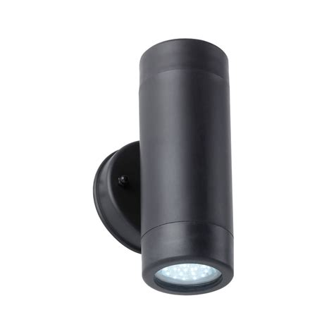 up and down wall lights endon el 40054 enluce black up and down outdoor wall light