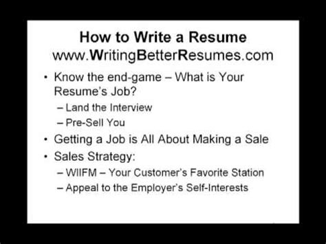 Three Tips To Write A Resume by How To Write A Resume 3 Tips To Help Get You Interviews