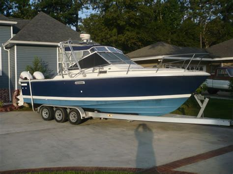 Tiara Boat Construction by Tiara Pursuit 2700 27 Fishbuster Or The Hull