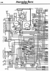 Mercedes 350 Sl 1972 Ignition Switch Wiring Diagram Please
