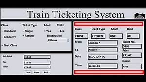 How To Create Train Ticketing System In Java Netbeans