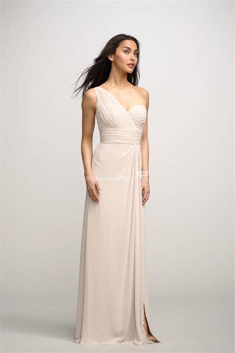 beautiful one shoulder chiffon bridesmaid dresses fashion