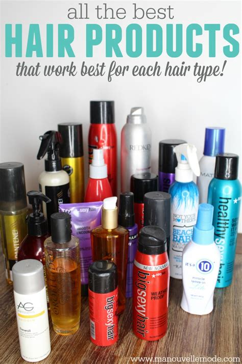 top hair styling products the best hair products for different hair types 5524