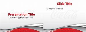 coca cola ppt template free powerpoint templates With coca cola powerpoint template