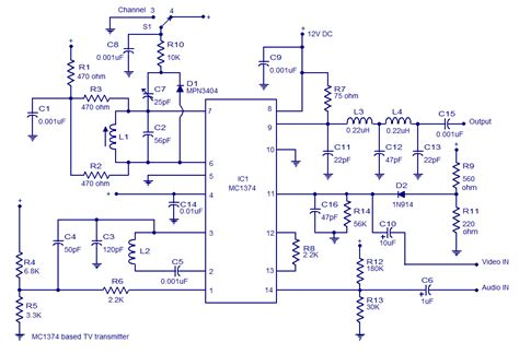 Transmitter Circuit Filling Diagram