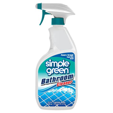 Bathroom Floor Cleaner by Simple Green 32 Oz Ready To Use Bathroom Cleaner Of