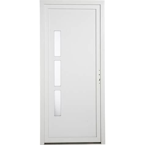 porte chambre leroy merlin porte de service pvc manhattan poussant gauche primo h200