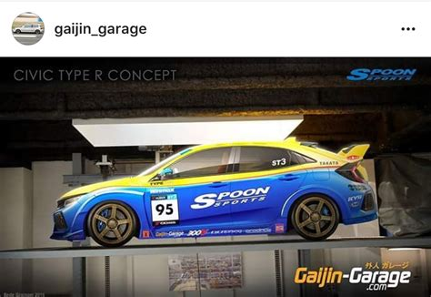 gaijin garage spoon sports type  renders  honda