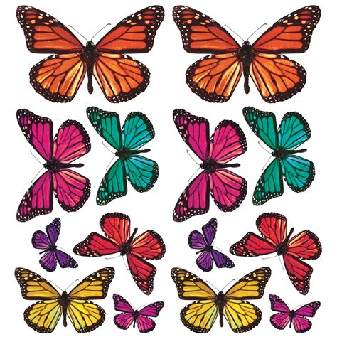 Butterfly 3d Wall Sticker 3d butterfly wall stickers girly wall stickers decor