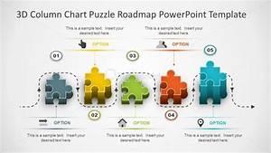 Powerpoint 3d Puzzle Roadmap
