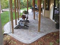 magnificent design patio ideas pavers Magnificent Patio Under Deck Design Ideas - Patio Design #207
