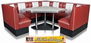 Us Diner Möbel : hw 120 120 b amerikanische m bel dinerbank eckbank diner retro usa gastronomie ~ Markanthonyermac.com Haus und Dekorationen