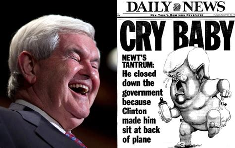 Newt Gingrich Meme - where the crybaby gingrich meme came from the atlantic