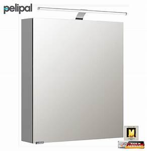 Spiegelschrank 60 Cm Led : pelipal neutraler spiegelschrank 60 cm mit led aufsatzleuchte s5 spsd 06 impuls home ~ Bigdaddyawards.com Haus und Dekorationen