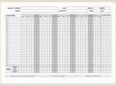 Printable attendance sheet Authorization Letter Pdf