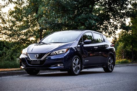 review  nissan leaf sl canadian auto review