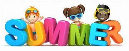 Summer Word Fun Clip Clipart Activities Things