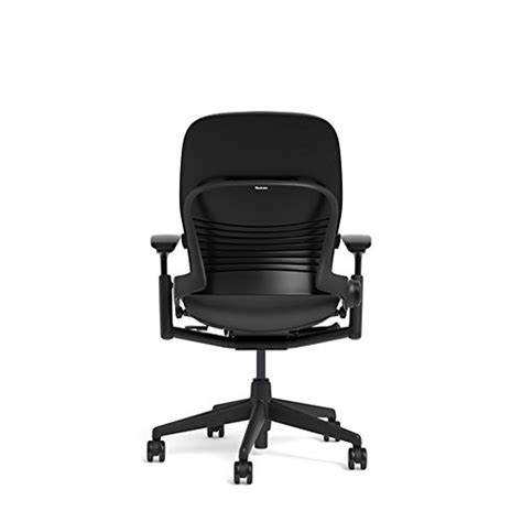 steelcase leap chair black fabric kitchen in the uae