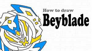 Beyblade Drawing How To Draw Beyblade Youtube